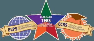 Three education logos in Texas