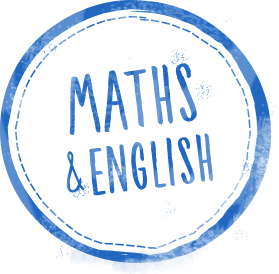 maths english stamp