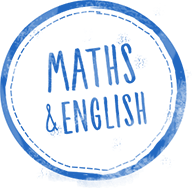 maths and english stamp