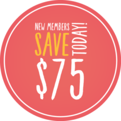 New members save $75 before February 28th