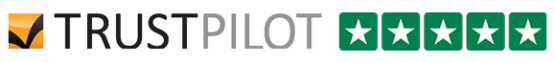 Trustpilot logo with stars