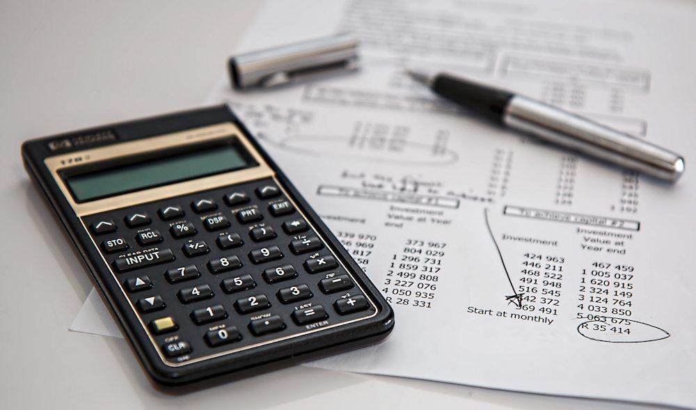 Calculator and finances