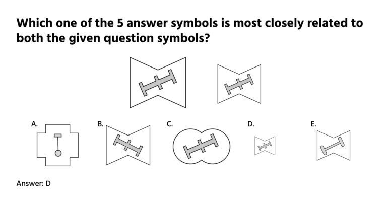 Non-verbal reasoning question
