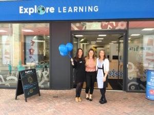 Explore Learning team at Nottingham Beeston