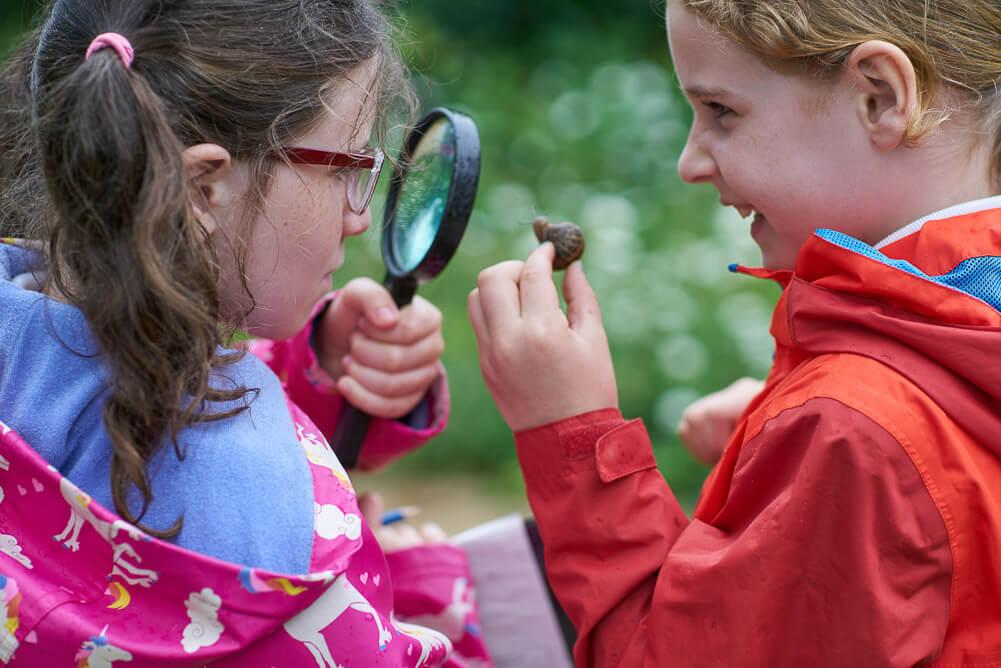Children sharing the wonder of science