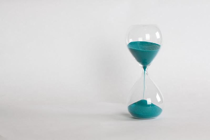 An egg timer