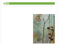 Grote schilderijen, kleine paneeltjes met landschappen of een detail daarvan. Ook vertilde interieurs in houten kistjes (3D)