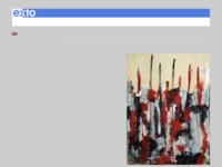 een abstracte schilder uit Amsterdam