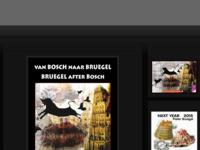 'Mail Art in theTower' + Mail art catalogus) Deelname, (Internationale mail art artisten)expositie in het Jheronimus Bosch Art Center s ' Hertogenbosch 2016 tot 8 januari 2017. Een initiatief van Toon Joosten van The museum of instant images.
