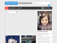 Sartpagina kunst Belgie.