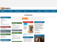 startpagina kunstenaars