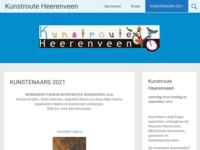 in 2017 ben ik gastexposant bij de kunstroute Heerenveen