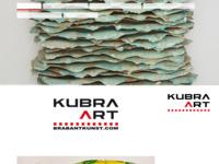 """Nieuwe Website""""Kubra"""". Een unieke samenwerking van 140 Brabantse kunstenaars in allerlei disciplines."""