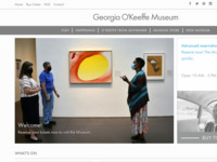 Georgia O'Keeffe Museum, Santa Fe, NM