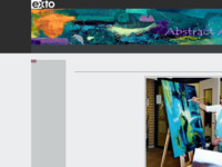 Mieke maakt prachtig abstract werk