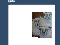 In de werken van vriendin Joke Sweers voeren vaak expressionistische vormen en kleuren de boventoon. Een zoektocht naar kleur, vorm en compositie zijn de basis. Zij werkt met verschillende materialen zoals Oostindische inkt, acrylverf, papier, stift. Vogels zijn een terugkerend ondewerp.