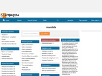 als je iets wilt weten over mandala's moet je op deze site zijn. Wil je iets weten over mandala's van theezakjes, dan moet je bij mij zijn...