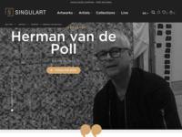 Singulart Google, worldwide!  • Koop Art Online (call-to-action-knop) • Vind mijn kunst op Singulart (menu bovenaan) • Online kunstgalerij (contact)