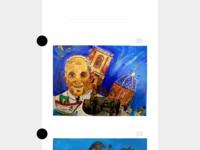 Kleine schilderijdoekjes rond het thema
