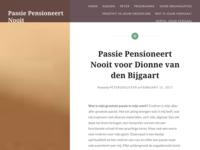 <p>Passie Pensioneert Nooit.</p>