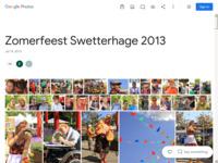 Het zomerfeest 2013 op het terrein van Swetterhage in Zoeterwoude.