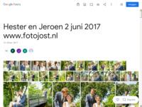 Huwelijk Hester en Jeroen 2 juni 2017.