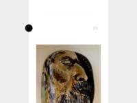 De met aquarel beschilderde en afgelakte stenen gevonden aan de monding van Rio Algar bij Altea. Dit doe ik onder de naam Rio Stoner De stenen hebben een geschiedenis van miljoenen jaren. Het boeiende van dit project is dat ik probeer te vorm en structuur van de steen te begrijpen en de tekening daarop af te stemmen
