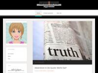 Een heel interessante site van Sacha Groot uit Schagen, waar haar creativiteit op vele vlakken duidelijk naar voren komt.
