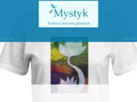 Wat voel ik ! Ik draag het uit !  MystykDe kunst T-Shirt drukker voor consument en bedrijf.  Eigen T-shirts met de kunst van Silvia Derks bedrukt.  T-Shirt met tekst die je aanspreekt.  Bestellen kan al vanaf 1 stuk.