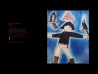 Website of Australian artist-friend Mark Visione