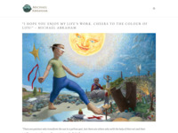 Website van een Canadeese kunstenaar die getrouwd is met een van de nichten van mijn vrouw. Michael maakt symbolische kunst, kunst met een verhaal, in een realistische stijl. Zijn schilderijen hebben ook iets dromerigs over zich.