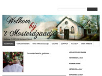 In 't Mosterdzaadje wordt altijd geexposeerd en als concertbezoeker heeft men behalve de prachtige muziek ook de gelegenheid met allerlei kunstenaars kennis te maken. De concertagenda vindt men op de website.