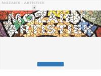 Mooi mozaiekwerk van Ineke Stolk.