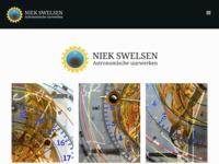 Niek Swelsen ontwerpt en bouwt astronomische uurwerken. Hier vindt u uitgebreide informatie over astrolabiums en planetariums.