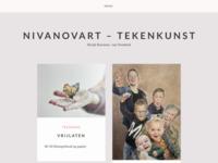 Nicole van Overbeek - tekeningen en schilderijen