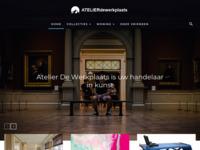 Atelier De Werkplaats is opgezet door Dinie Dekkers-Bramel; beeldhouwster en therapeut. Voor mij: vriendin en de persoon door wie ik gestimuleerd werd mijn eigen atelier te beginnen.