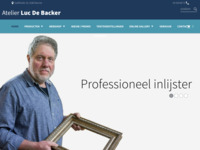 Inlijstingen Atelier Luc De Backer in Deurne, Galifortlei 19.