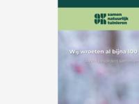 """Algemene Volkstuin Vereniging Nederland, met een informatief ledenblad """"Tuinliefhebber""""."""