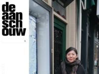 de aanschouw - raamgallerie in de Witte de Withstraat in Rotterdam, met werk van Martijn Huting