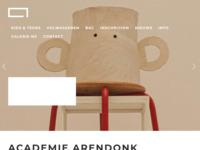 Academie voor Schone Kunsten te Arendonk [België].  Joke Geurts is in 2005 afgestudeerd aan deze academie.