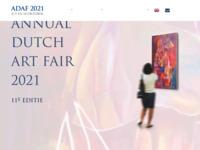 Ik ben op de A. D. A. F. Met mijn schilderijen op 9,10 en 11 oktober in 2020