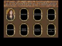 Andere site van Alexandra Timmer, waarop een selectie van haar werk is opgenomen en een paar bijzondere projecten, zoals het groepsschilderij de Marktwacht (in samenwerking met WG Kunst) en Negen meisjes.