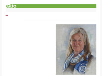 Anju schildert abstract, kleurrijke landschappen en realistisch, prachtige portretten.