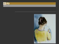 een mede club lid van de LAK die veel aquarel schilderijen maakt