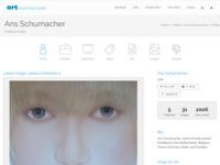 Amerikaanse art site  Ans Schumacher