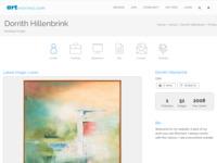 Met de nieuwste schilderijen heb ik mij aangemeld bij een internationale website. 'Abstraflexie' is een collectie schilderijen die ik in 2008. eerst had ik alles geschilderd rondom werkzaamheden in een binnenstad en als reactie daarop de verbrokkeling van de ware vormen in de ramen van de nieuwe architecture. veel kijkplezier Dorrith (THILL)