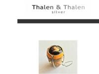 Rob werkt momenteel samen met zoon Jaap in hun zelfgebouwd designAtelier Thalen&Thalen SPRL in België.Mooi zilver designwerk te zien van Rob Thalen op zijn website. Uit dank voor het doorgeven van zijn vakkennis en het ter beschikking stellen van een inspirerende werkomgeving. Kijk ook eens op www.iiigallery.com, een art-concept van Rob Thalen en Mei Lee in Brussel.