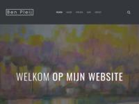 website van mijn zwager Ben Pleij, die vnl. buitenonderwerpen schildert in Noordwijk en omgeving