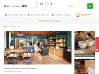 <p>De &lsquo;Boot Koffie&rsquo;-koffiewinkel, ook wel bekend als The Golden Coffee Box, is gelegen midden in de winkelstraat in het centrum van Baarn.</p>