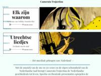 Camerata Trajectinageldt als dé pleitbezorger voor Nederlandse muziek tot en met de Gouden Eeuw.